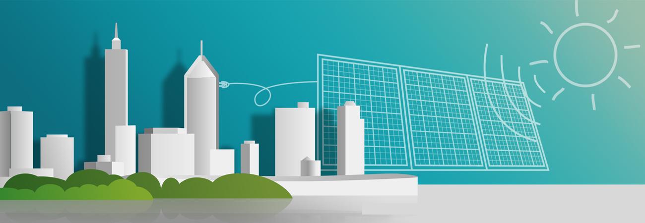 Produção Fotovoltaica - Uma área de módulos fotovoltaicos inferior a um metro quadrado, com algumas horas de iluminação por dia, produz dezenas de Wh.